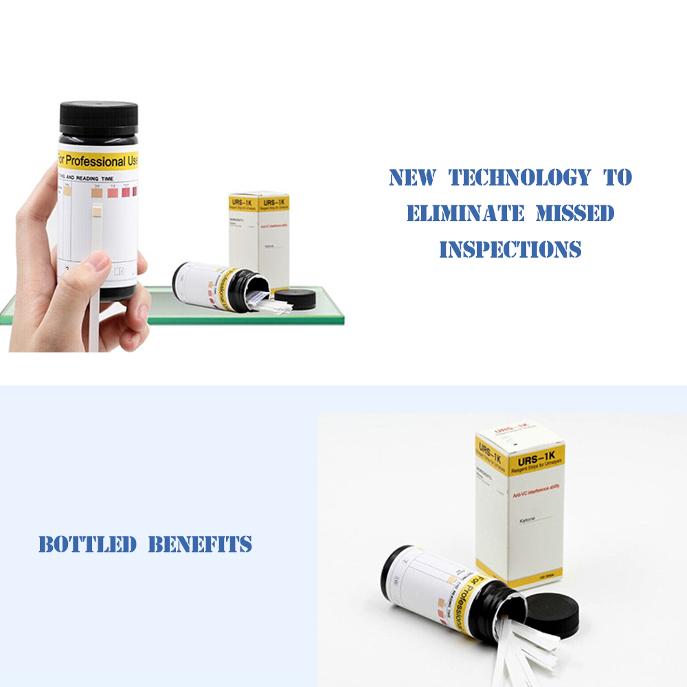50/100PCS Home Ketone Strips Ketosis Urine Urinary Test-Atkins Diet Weight Lose Analysis Keto Strip Healthy Diet Body Test Paper
