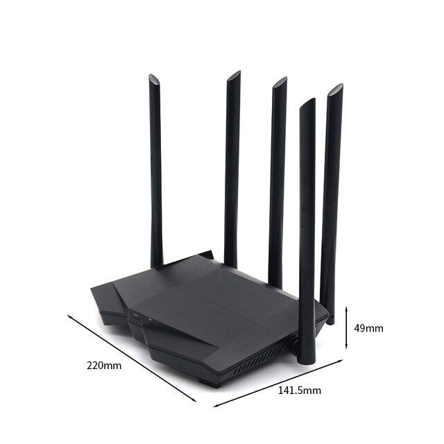 FSD GC11 AC1200M kablosuz WiFi yönlendirici 2.4G/5.0G yüksek kazançlı anten yönlendirici Wifi çift bantlı kablosuz yönlendirici, app kontrolü