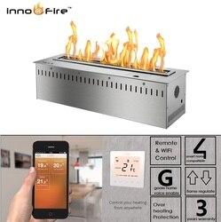 Vendita Calda 36 Pollici di Lusso Intelligente Fireplaec Bruciatore Bioetanolo a Distanza