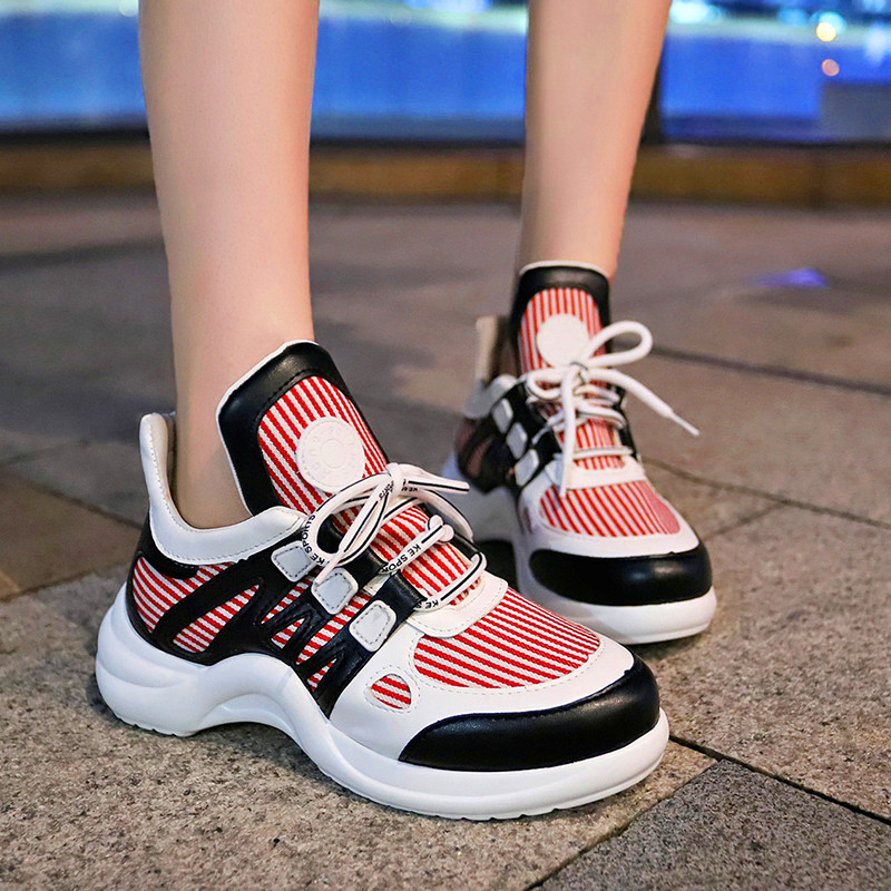 Женская повседневная обувь на осень, модные кроссовки в деловом стиле с перфорацией типа «броги», оксфорды с перфорацией, дышащая Свадебная обувь, 2019|Повседневная обувь|   | АлиЭкспресс