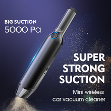 Car Vacuum Cleaner Car Cleaner 5000mah Battery Portable Handheld Cleaner Home Wired Cleaner Wireless Light Weight Strong Suction