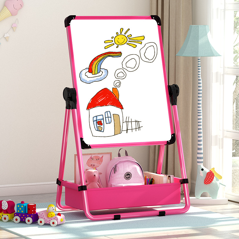 Special Children Drawing Board Small Blackboard Adjustable Braced Household Double Magnetic Graffiti Suit Writing Whiteboard ~ C