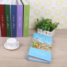 300 Sheets Interleaf Type Family Photo Album Picture Scrapbook Memory Book Wedding Scrapbook Baby Memory Book for Schoolmate