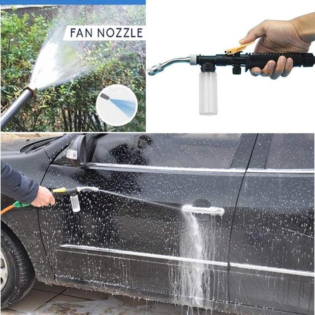 2-in-1 High Pressure Washer 2.0 - Water Jet Nozzle Fan Nozzle Safely Clean High Impact Washing Wand Water Spray Washer Water Gun 4