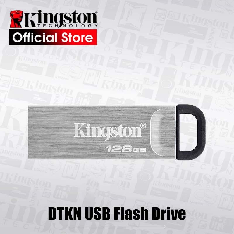 USB-флеш-накопитель Kingston DataTraveler Kyson, флеш-накопитель USB 3,2 Gen 1, DTKN, USB-накопитель, 32 ГБ, 64 ГБ, 128 ГБ, 256 ГБ, USB
