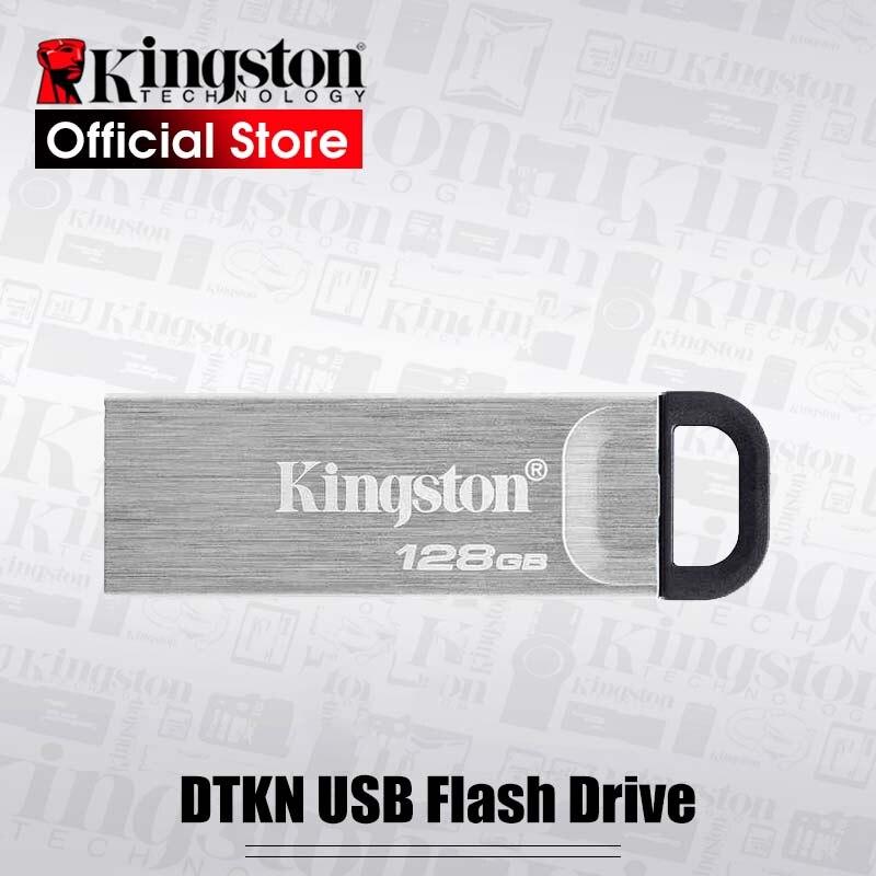 Kingston DataTraveler Kyson pamięć USB USB 3.2 Gen 1 pen Drive DTKN Cle USB pendrive dysku kij 32gb 64gb 128gb 256g USB3.0