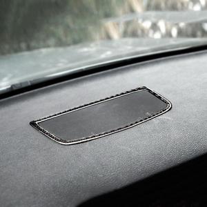 Image 2 - סיבי פחמן לוח מחוונים רמקול דקורטיבי סטיילינג מדבקה עבור BMW E70 E71 X5 X6