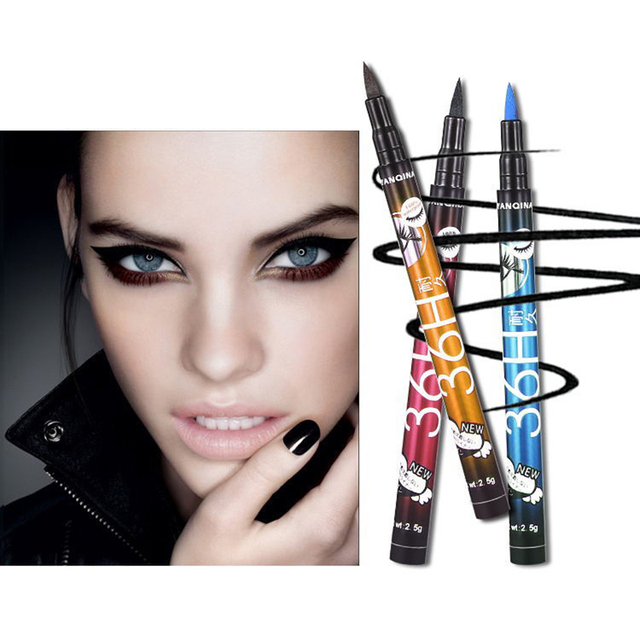 Black Not Blooming Eye Liner Pencil Waterproof Anti-stain Long Lasting Quick Drying Eyeliner Women Makeup Tools Hot sale TSLM1