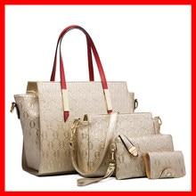 Ceossman Handbags For Women Shoulder Bag 4 PCS Messenger Hand Bag Wallet Ladies Designer Luxury 2021 PU Leather