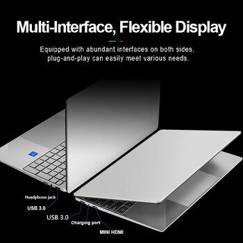 Max RAM 36GB Rom 2TB SSD Ultrabook Metal Computer with 2.4G/5.0G Bluetooth Ryzen R7 2700U windows10 Metal portable gaming laptop 6