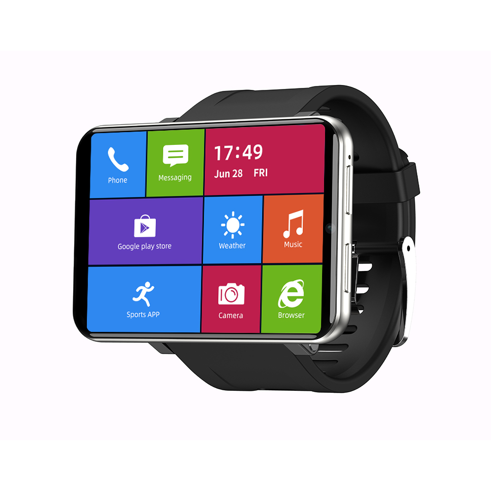 [Face Unlock]TICWRIS MAX 2.86 Inch HD Screen Smart Watch 3G+32G 4G-LTE 2880mAh Battery Capacity 8MP Camera GPS Smart Watch Phone