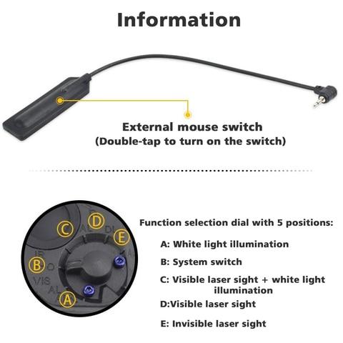 caixa da bateria do laser ponto