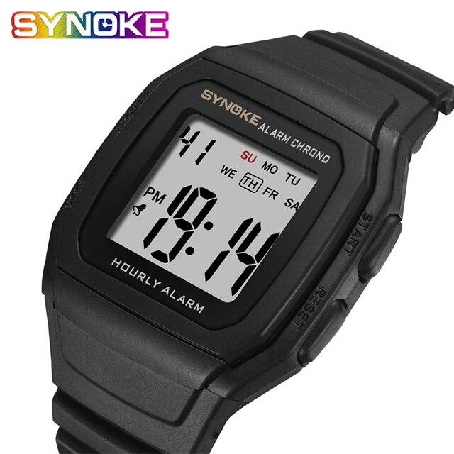 שעון דיגיטלי קלאסי SYNOKE  1