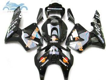 Kit de carenado de inyección apto para Honda cbr600cr 2005 2006 CBR 600 CR 05 06 ABS kits de carenado de soprts de plástico negro carrocería JK15