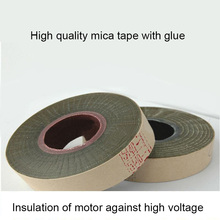 5440 1 com Borracha Mica Tape/Fita de Mica Em Pó de Vidro da Cola Epoxy/Motor de Alta Pressão Fita de Mica (largura 25mm)