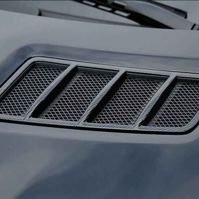 Car Hood Engine Air Outlet Frame Cover Carbon Fiber Accessories For Mercedes Benz GLE ML 2012-2019 / GL GLS 2013-2019 / W166 2