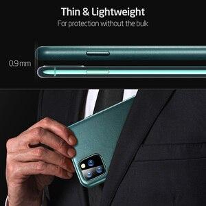 Image 5 - Чехол ESR для iPhone 11 Pro Max, чехол из натуральной кожи для iPhone 12 mini 12Pro Max, роскошная задняя крышка для iPhone 11 12 11Pro Max