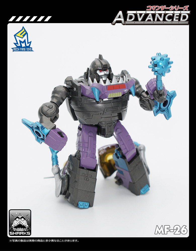 Transformation MechFansToys MF-26E Sharkticons Limited Edition,in stock!