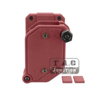 "Image 3 - IPSC Magazine Holster+Belt Set USPSA IDPA 1.5"" Shooting Inner & Outer Belt High Speed 3/4/5x Multi Angle Speed Pistol Mag Pouch"