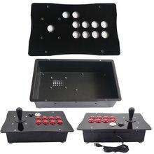 Diy Happ Concurrentie Arcade Fight Stick Joystick Metal Case En Acryl Paneel Big Size
