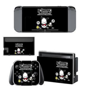 Image 3 - ויניל מסך עור Pochacco כלב מגן מדבקות עבור Nintendo מתג NS קונסולת + שמחה קון בקר + Stand מחזיק עורות
