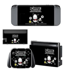 Image 3 - Vinyl Screen Skin Pochacco Dog Protector Stickers for Nintendo Switch NS Console + Joy con Controller + Stand Holder Skins