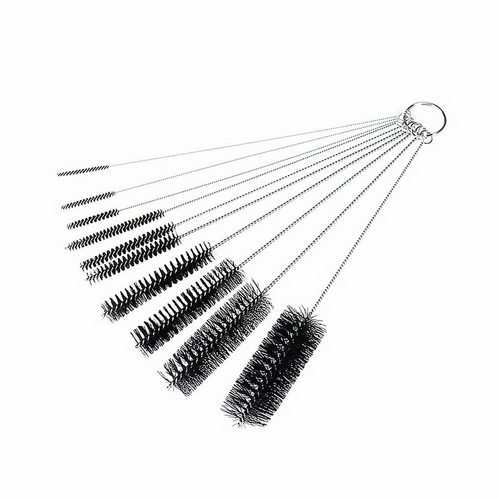 10 sztuk/zestaw ekspres do kawy szczotka butelka rury słomy cleaner mycie okulary klawiatury czyszczenie biżuterii szczotki czyste narzędzia