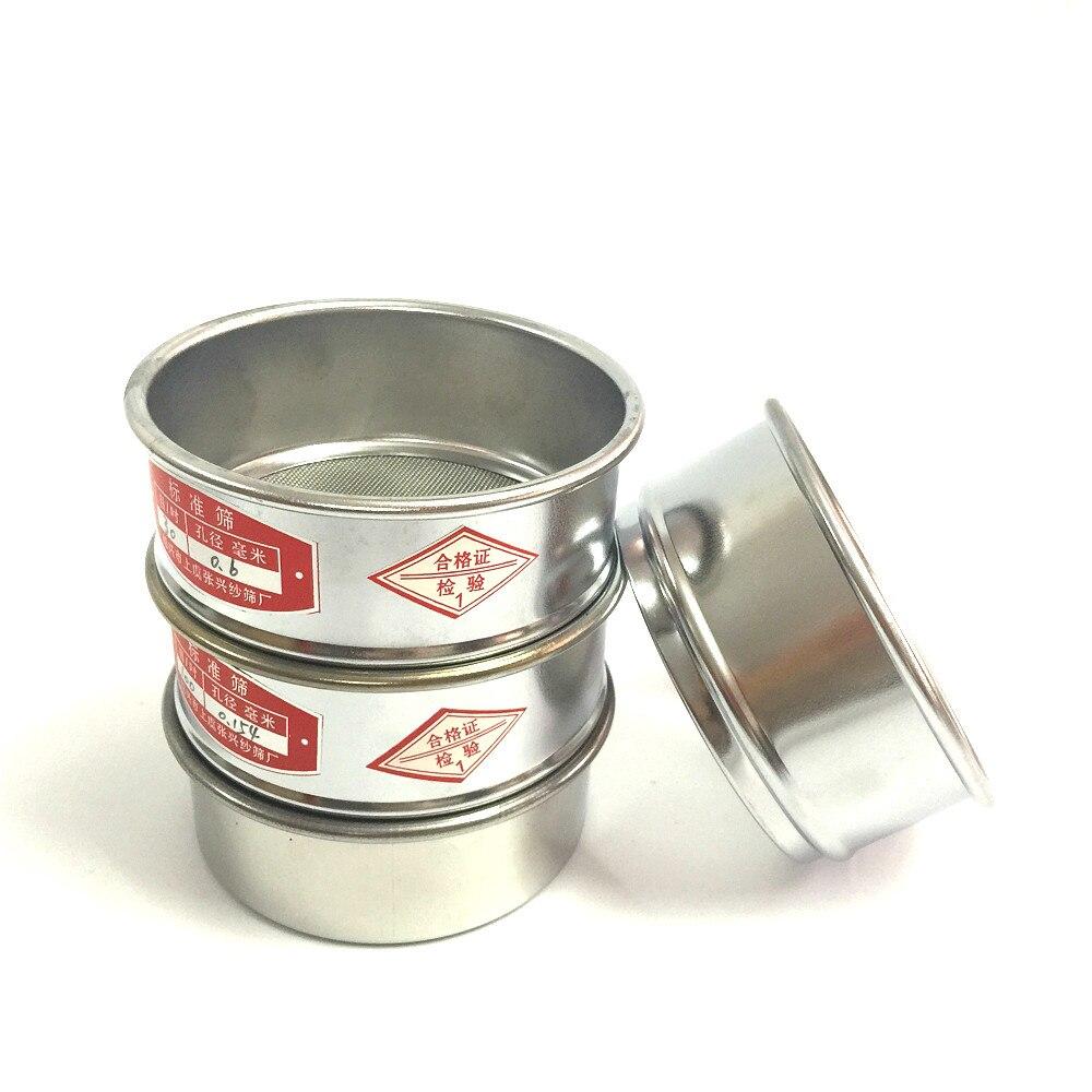 tamis-d'essai-laboratoire-standard-tamis-echantillonnage-inspection-pharmacopee-tamis-304-sus-ecran-chromage-cadre-dia-10-cm-12-200-maille