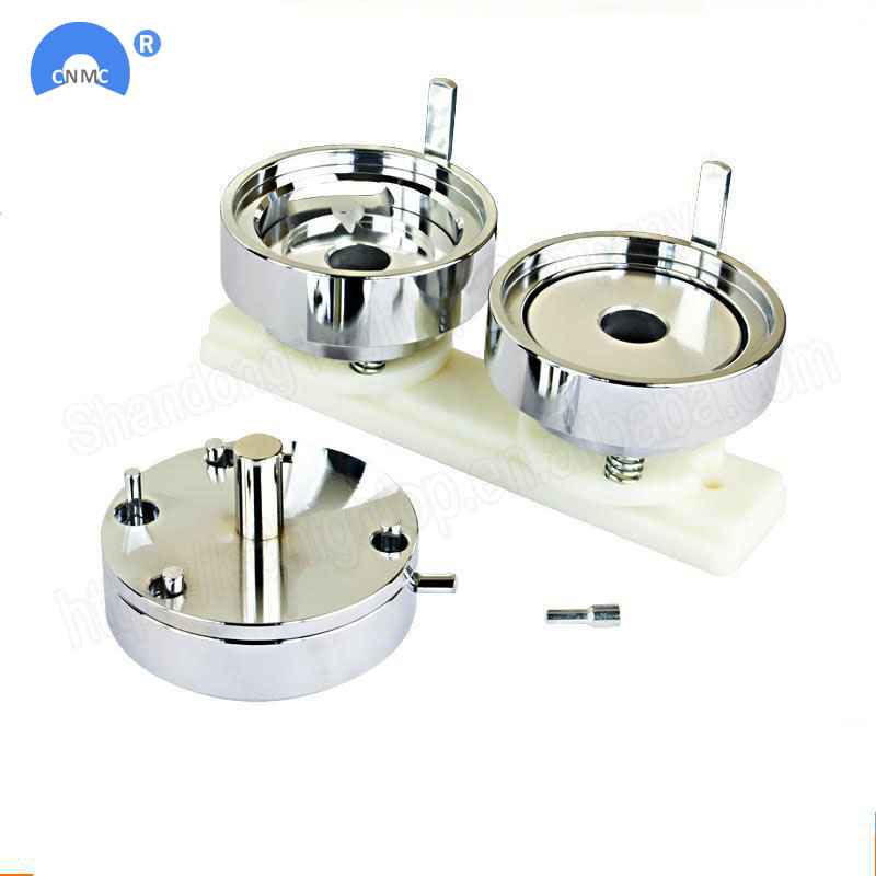 Free Shipping Badge Pin Making Mould Button Maker Punch Press Machine Metal DIY 25MM/32MM/37MM/44MM