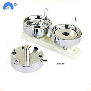 Máquina de prensado de Metal DIY de 25MM/32MM/37MM/44MM, fabricante de botones de fabricación de Pin con distintivo, envío gratis