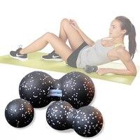 Procircle epp フィットネスピーナッツマッサージボールラクロスボールショルダーバック脚のリハビリ治療のためのトレーニング