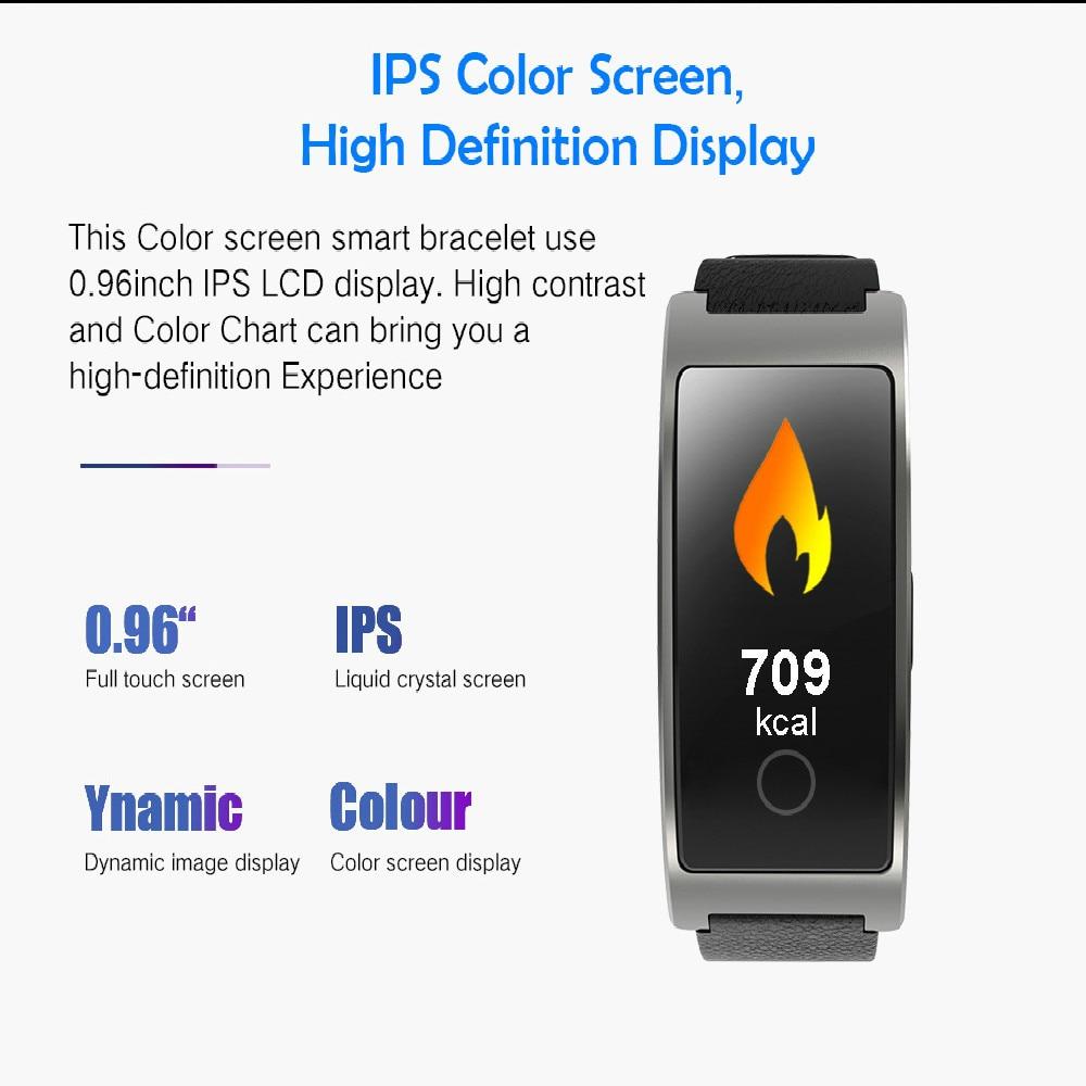 Fitness-Tracker Watch-Heart-Rate Smart-Bracelet Sleep-Message-Monitor Wrist Blood-Pressure