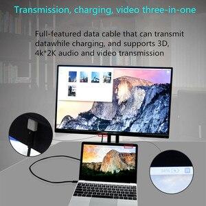 Image 2 - Usb タイプ c ケーブル macbook pro のためのサムスン S9 S10 huawei 社 P30 高速充電 pd 高速充電 100 ワット 5A usb c usb c ケーブル