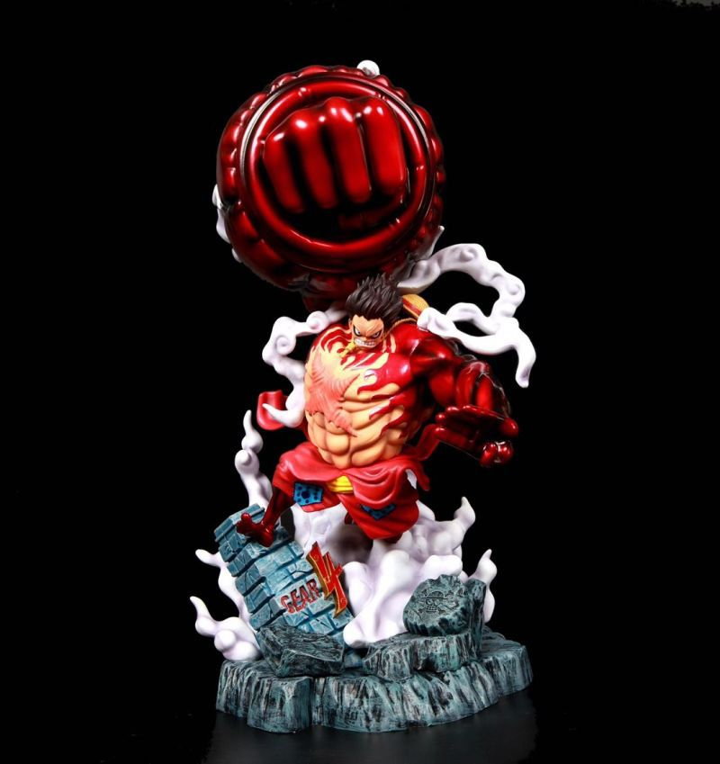 Place it in dorms, bedrooms, offices, studios, and anywhere. Anime One Piece Wano Country Monkey D Luffy Gear Fourth 4 Kong Gun Ver Gk Pvc Action Figure Statue Collection Model Toys Doll Action Figures Aliexpress