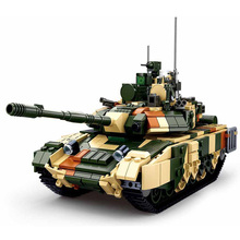 Мировая война, Военная серия, российский т90мс, главный боевой танк, модель солдат, фигурки, строительные блоки, игрушки