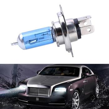 1 sztuk 55W H4 żarówki ksenonowe Ultra jasny reflektor samochodowy 12V biały Super samochód żarówki akcesoria reflektor światło halogenowe ksenonowe S8J0 tanie i dobre opinie 12 v 55 w High and Low beam