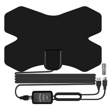 2021 NEW indoor 3000 Miles X HDTV Antenna digital antenna tv Aerial Receiver with Amplifier DVB-T2 ISDB-T ASTC satellite dish