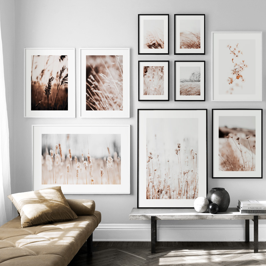 Hc4c2e9bfdbdc4c6094b4dbb8ce3b2e0ba Farm Plant Flower Leaves Wheat Landscape Wall Art Canvas Painting Nordic Posters And Prints Wall Pictures For Living Room Decor