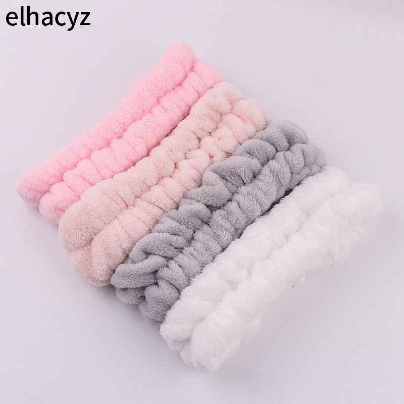 2020 neue Mode Einhorn Stirnband Weiche Elastische Haarband für Frauen Mädchen Waschen Gesicht Headwear Make-Up Stirnband Haar Zubehör