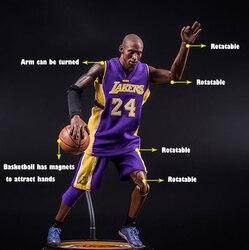 [MGT] баскетболист NBA, чтобы сделать баскетбольную куклу Коби рука, чтобы сделать подвижную модель в память о Bryant скульптуры