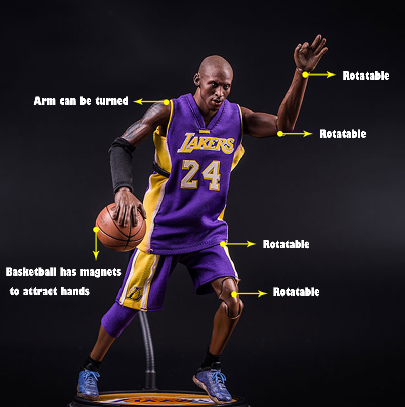 [MGT] NBA Basketball Player To Do Kobe Basketball Doll Hand To Do Movable Model To Commemorate Bryant Sculpture