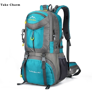 40/50/60L Large Capacity Men Hiking Backpack Women Outdoor Mountain Climbing Bag Male Sport Backpack Leisure Boy Travel Backpack