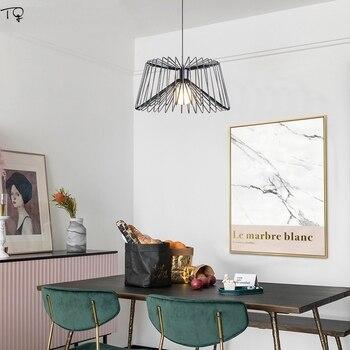 מודרני תמציתי תעשייתי מנורת Led תליון אורות סלון חדר אוכל חדר מסעדת קפה אופנה עכביש מנורת Luminaria Pendente