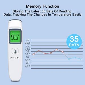 Image 4 - Forehead Body Thermometer Non Contact Digital Thermometer Infrared Body Temperature Gun Fever Digital Measure Tool Baby Adult