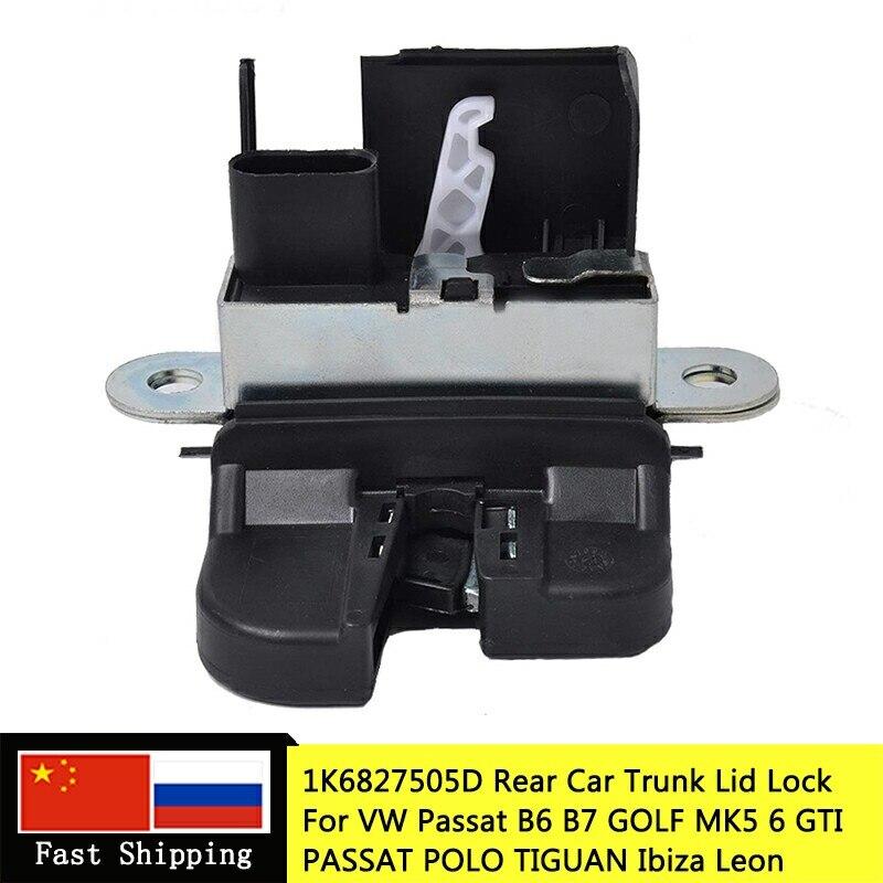 5K0827505A 1K6827505E 5M0827505E 1P0827505D REAR TRUNK LOCK LID LOCK LATCH FOR VW GOLF MK5/6 GOLF GTI GOLF PASSAT FOR SEAT LEON 5k0827505a latch latch lock - title=
