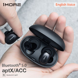 1MORE E1026BT Stylish True Wireless Earphones Bluetooth 5.0 In-Ear mini Sport Headset Support aptX ACC with Mic Qualcomm chip