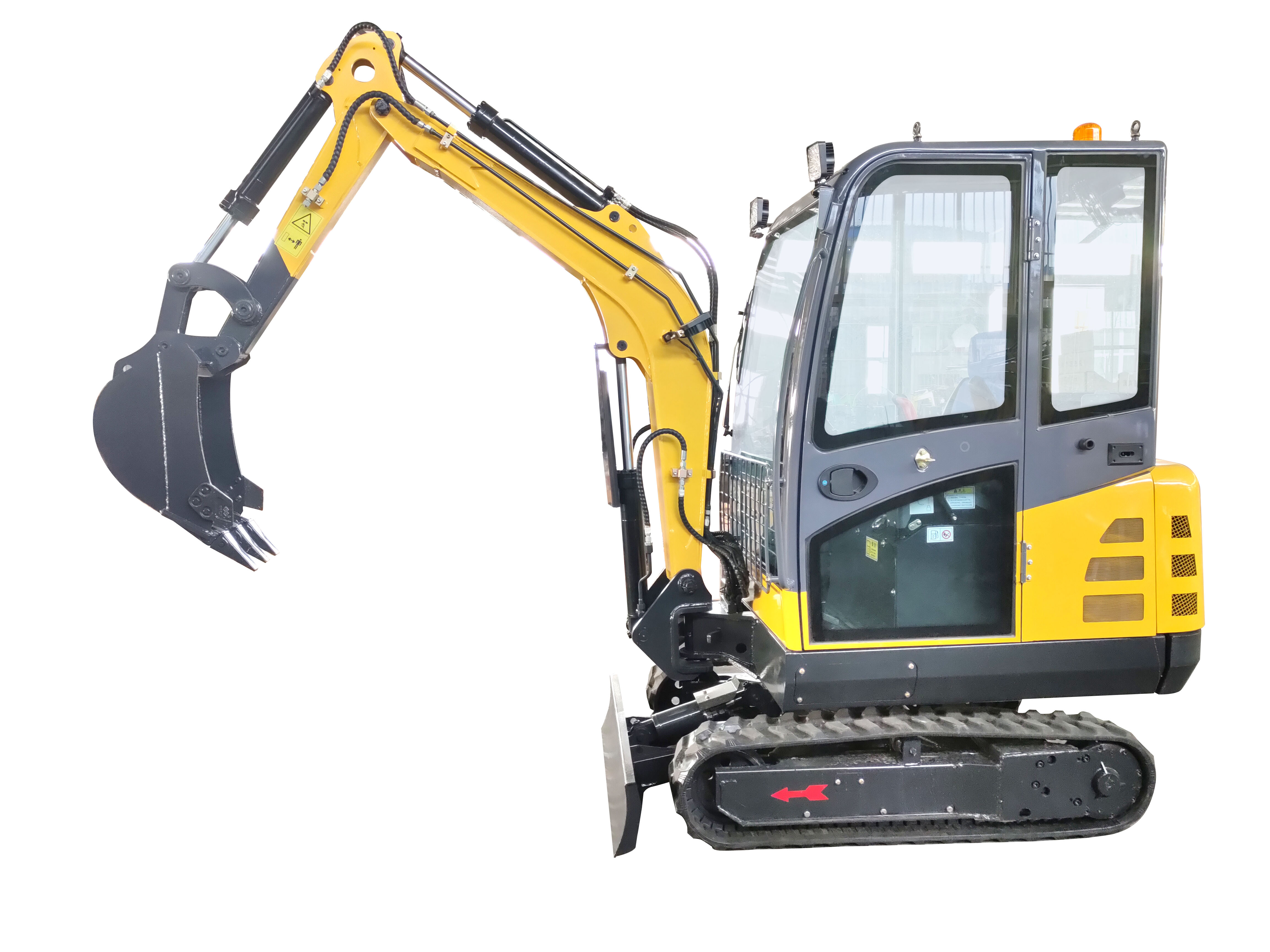 Full Hydrauli Mini Excavator 2.5ton With Cabin CE EPA Approved For Sale