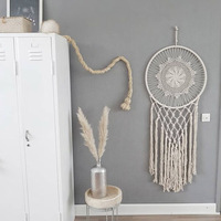 Dream Catcher Wall Hanging Decor Handmade Nordic Home Decoration Catchers Hang Kids Room Wall Hanging Blanket Decoration HM0046