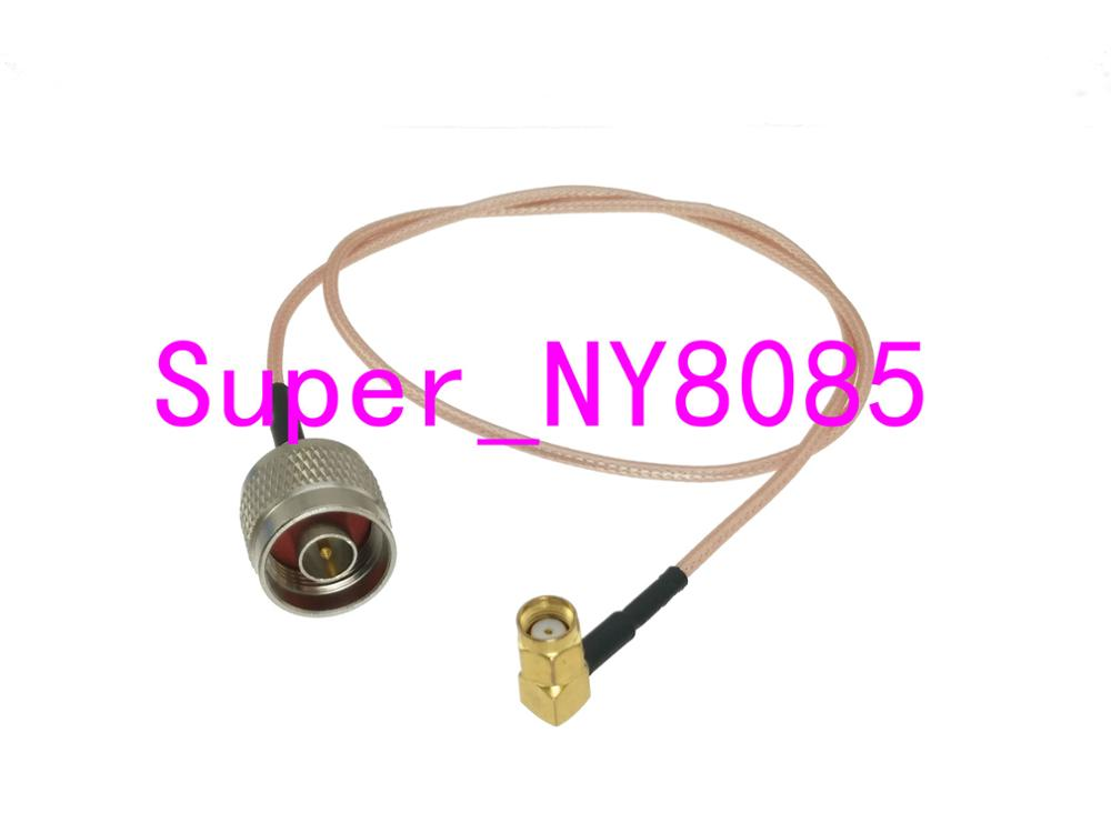 """5x 15cm RG316 Cable RP SMA Male Jack Right Angle To Female Plug Pigtail 6/"""" FPV T"""
