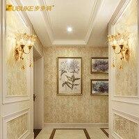 Nordic criativo tubo de vidro azul e branco luz parede sala estar quarto lobby do hotel lâmpada parede